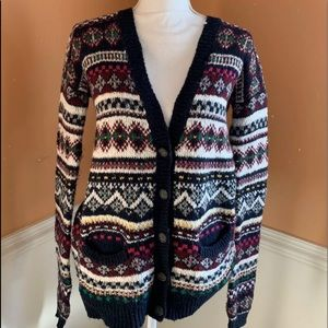 ABERCROMBIE AND FITCH  colored Sweater cardigan